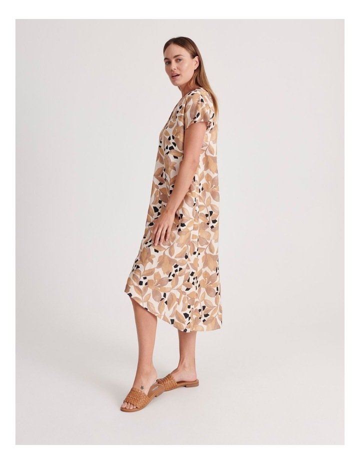 V-Neck Short Sleeve Dress image 2
