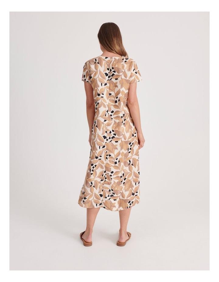 V-Neck Short Sleeve Dress image 3