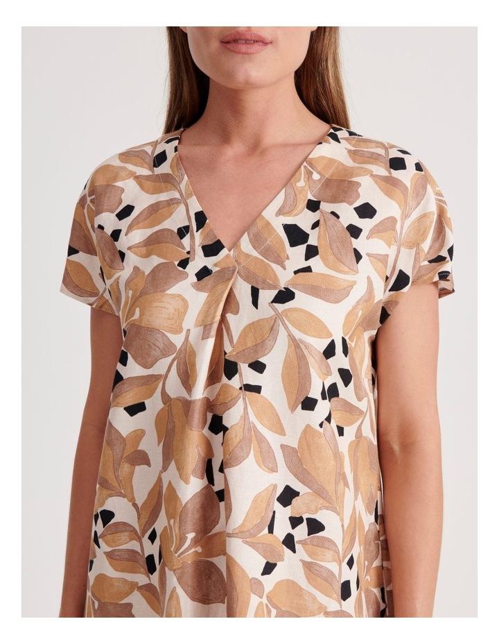 V-Neck Short Sleeve Dress image 4