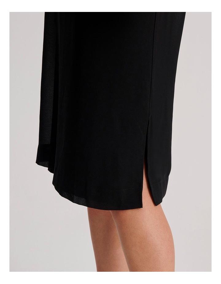 Short Sleeve Sheer Dress image 4