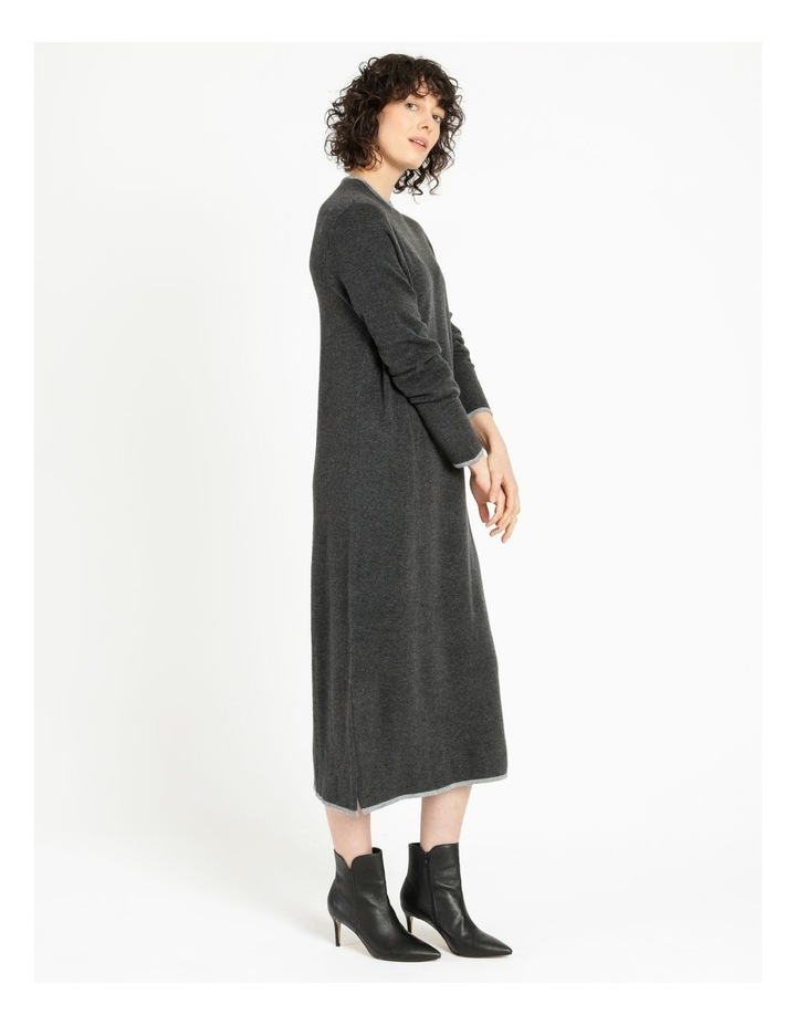 Jumper Dress With Contrast Tipping image 2