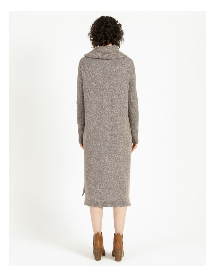 Jumper Dress With Cowl Neck image 4
