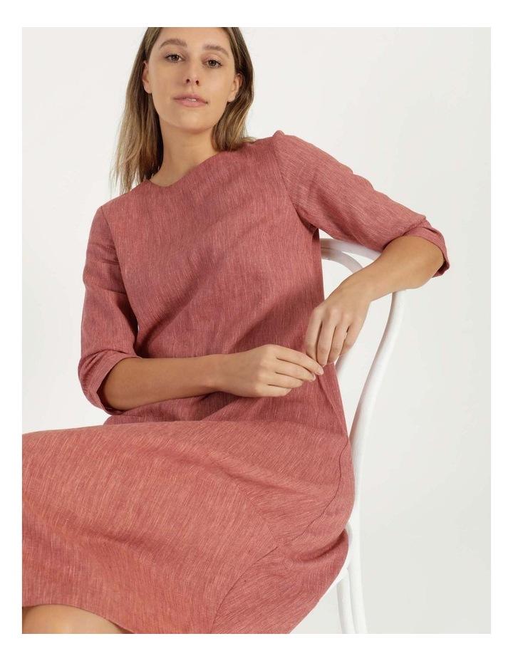 Baked Asymmetrical Dress Pink image 2
