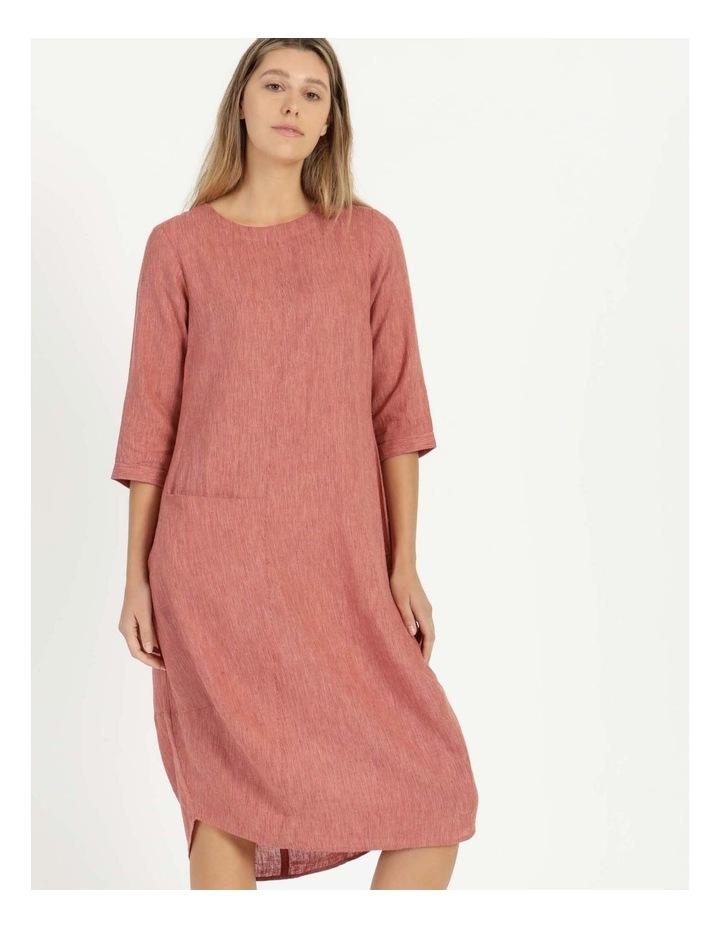 Baked Asymmetrical Dress Pink image 4