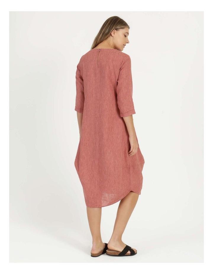 Baked Asymmetrical Dress Pink image 5