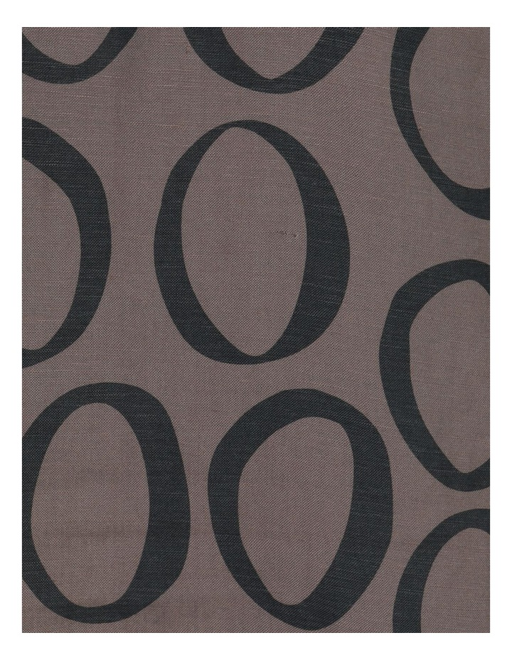 Grey Ring Print Asymmetrical Dress image 6