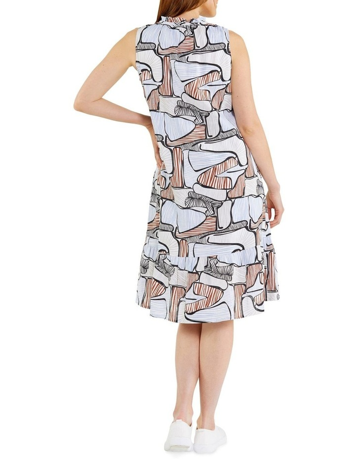 Puzzle Print Dress image 3