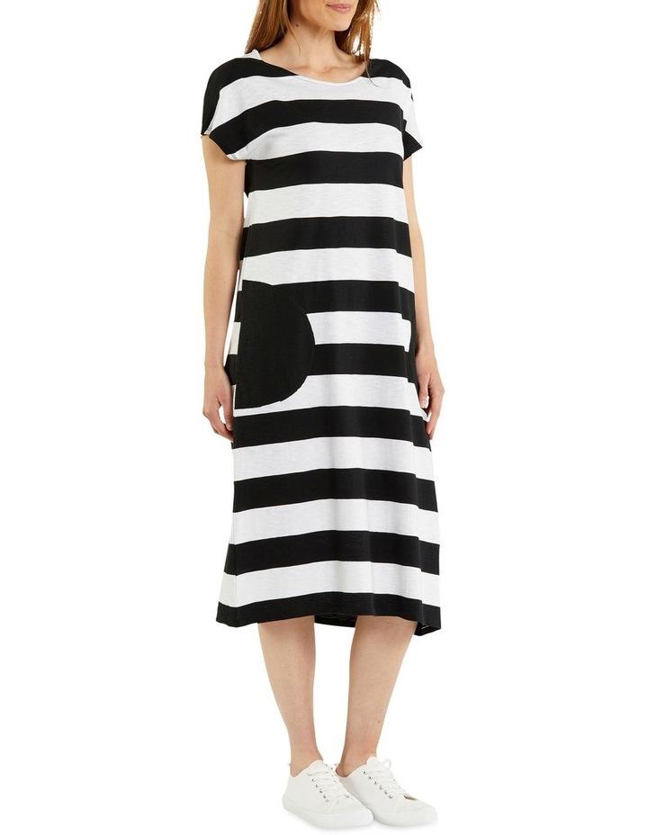 Stripe Jersey Dress image 2