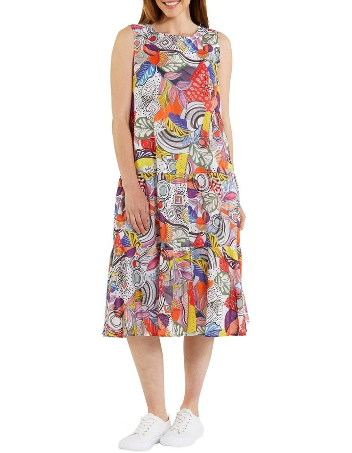Carousel Print Dress image 1