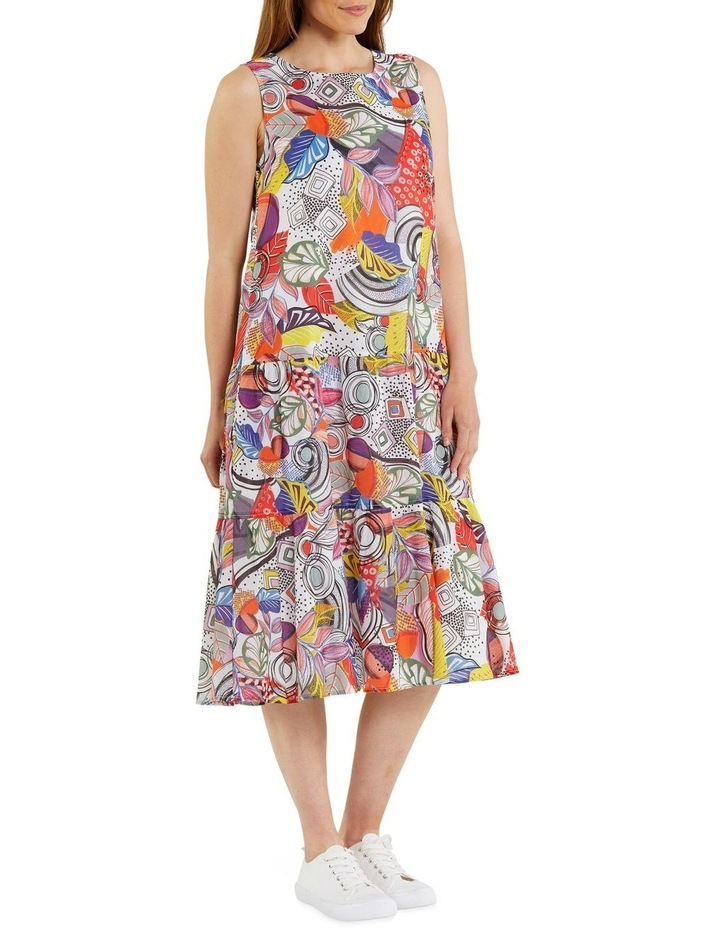 Carousel Print Dress image 2
