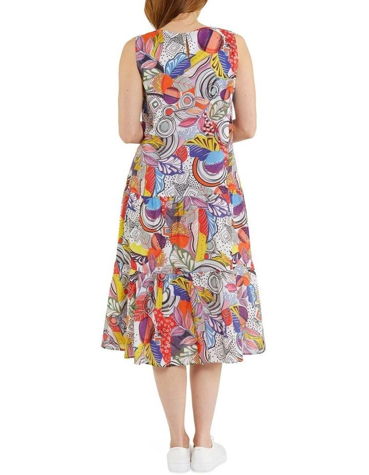 Carousel Print Dress image 3