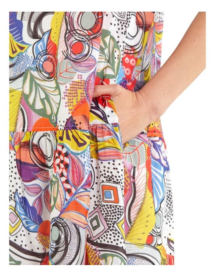 Carousel Print Dress image 4