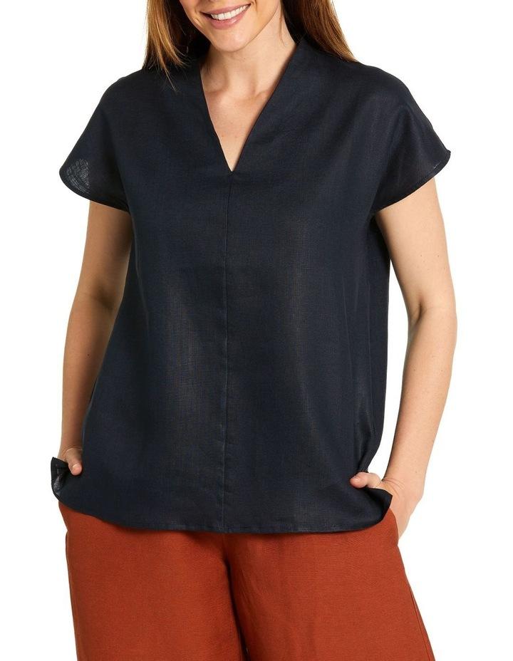 Split Neck Shirt image 1