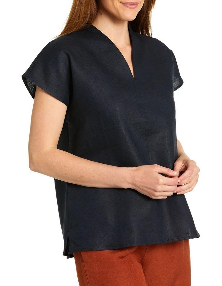 Split Neck Shirt image 3