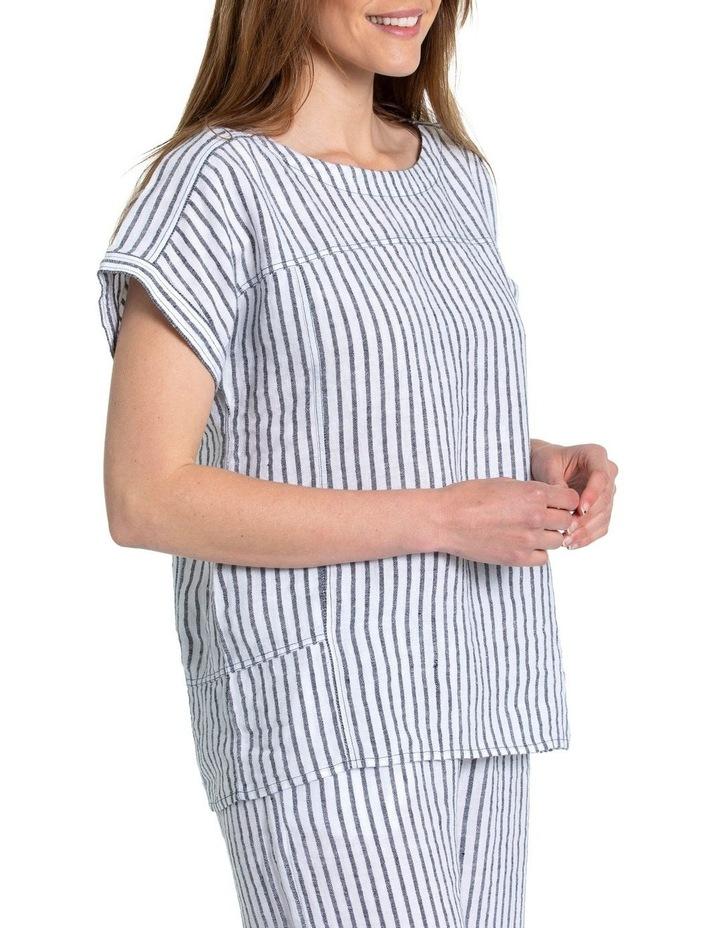 Textured Stripe Shirt image 2