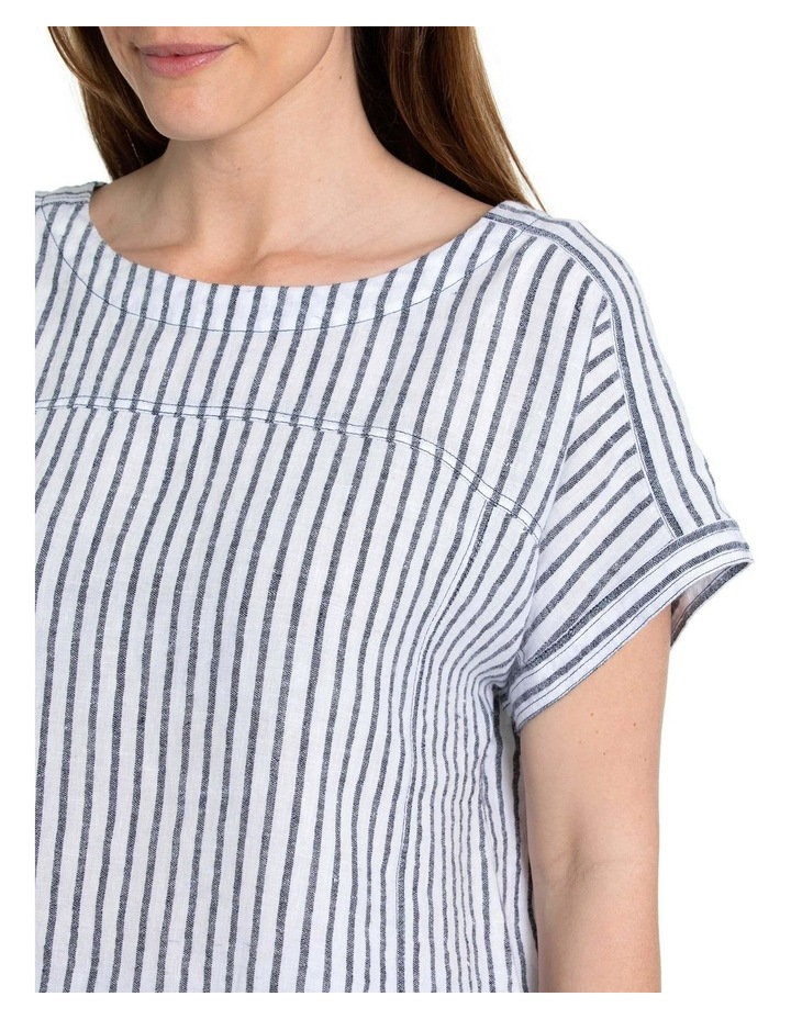 Textured Stripe Shirt image 5