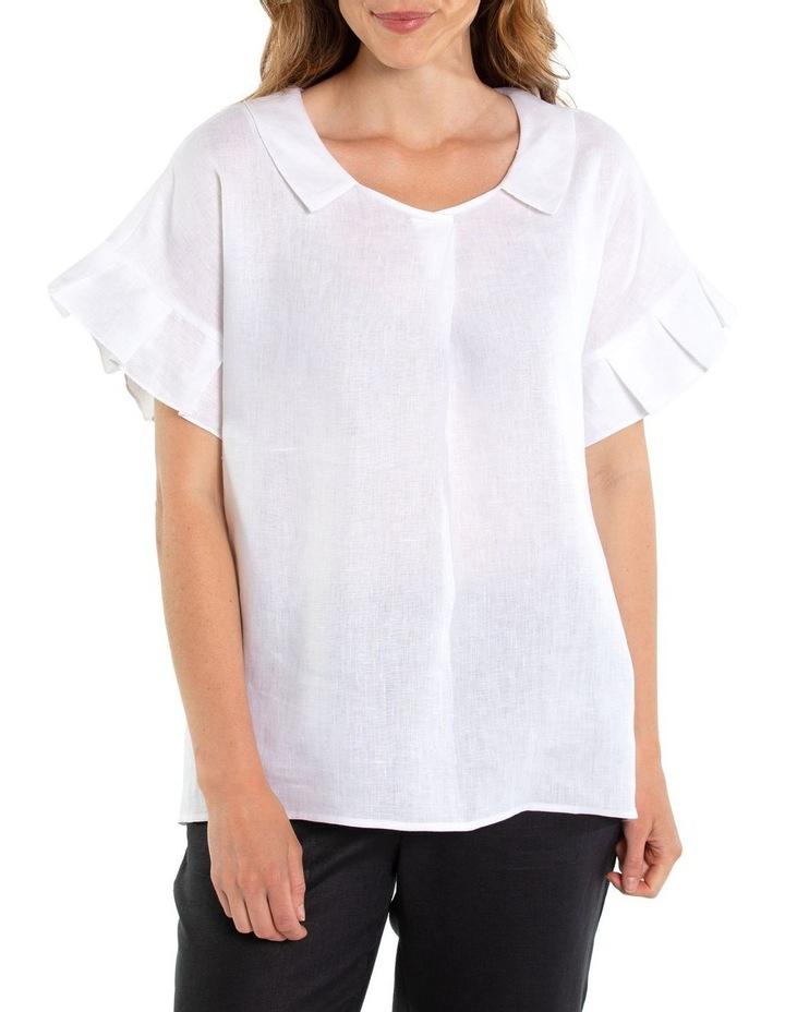Pleated Sleeve Blouse image 1