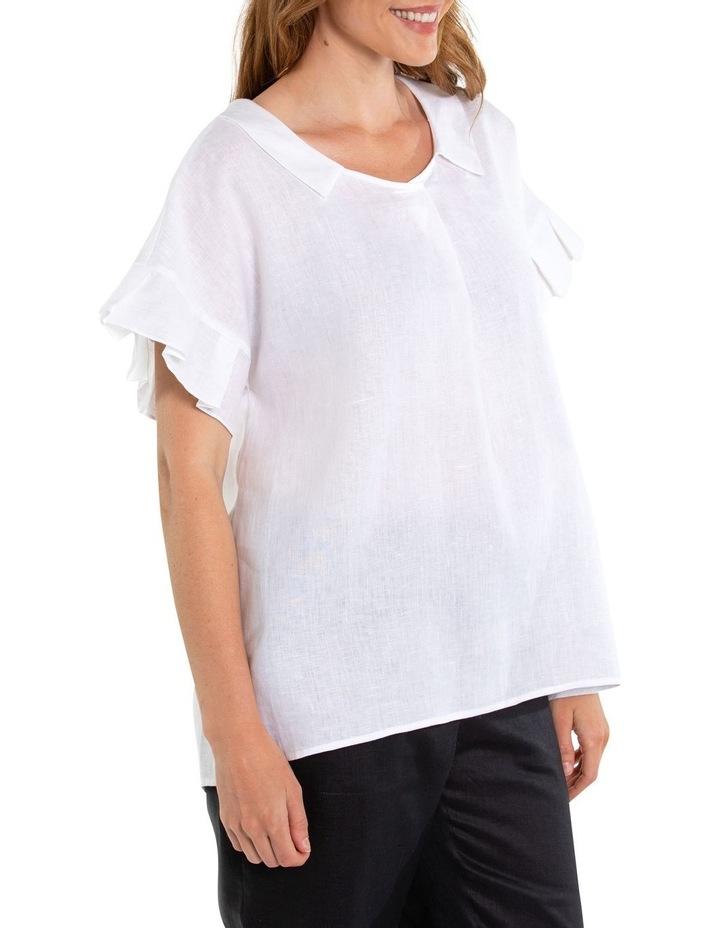 Pleated Sleeve Blouse image 2