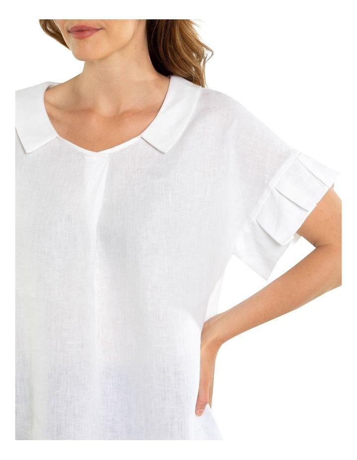Pleated Sleeve Blouse image 4