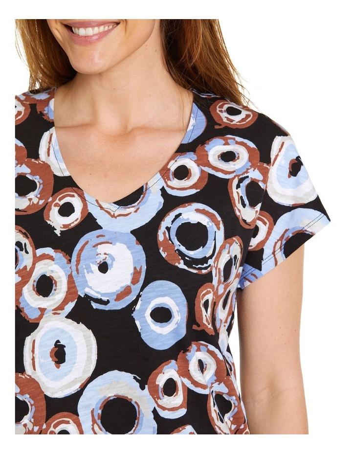 Rings Print Tee image 4