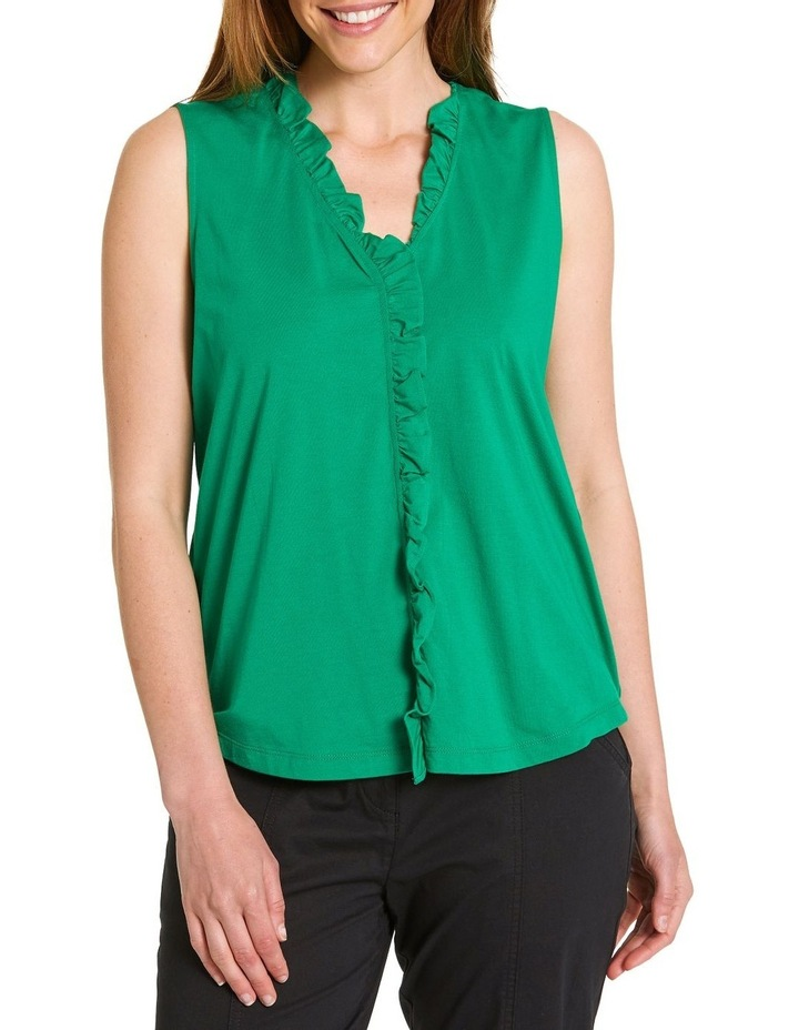 Frill Placket Top image 1