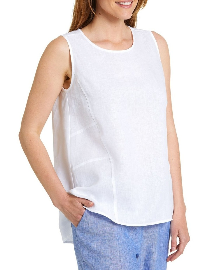 S/L Essential Linen Top image 2