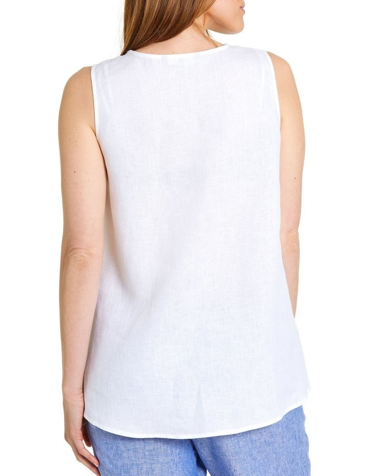 S/L Essential Linen Top image 3