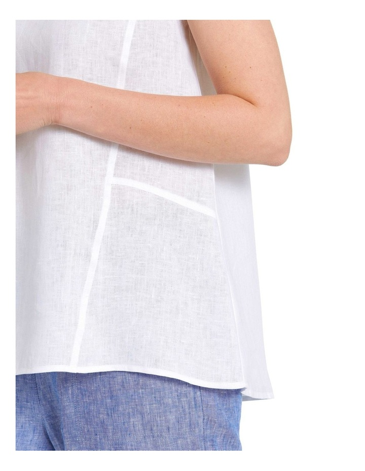 S/L Essential Linen Top image 4