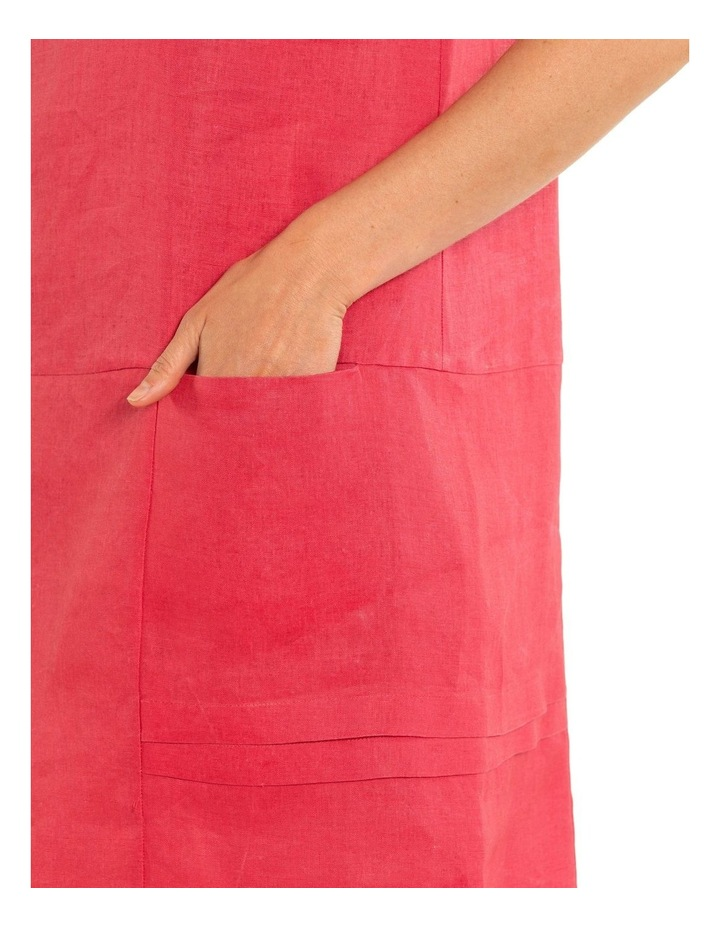Pigment Washed Linen Dress image 4
