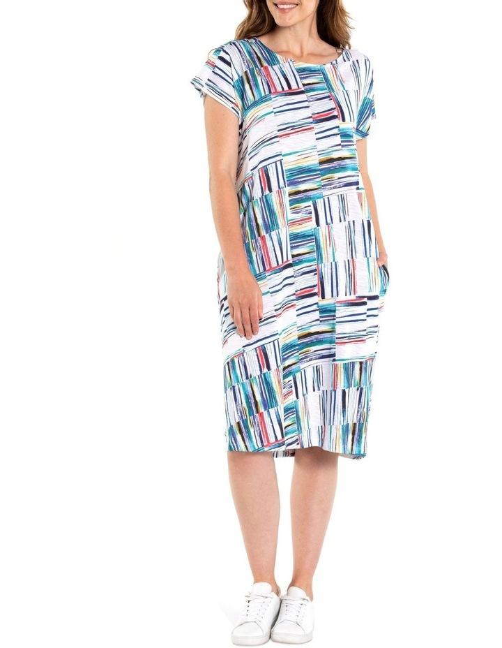 Broken Stripe Dress image 1