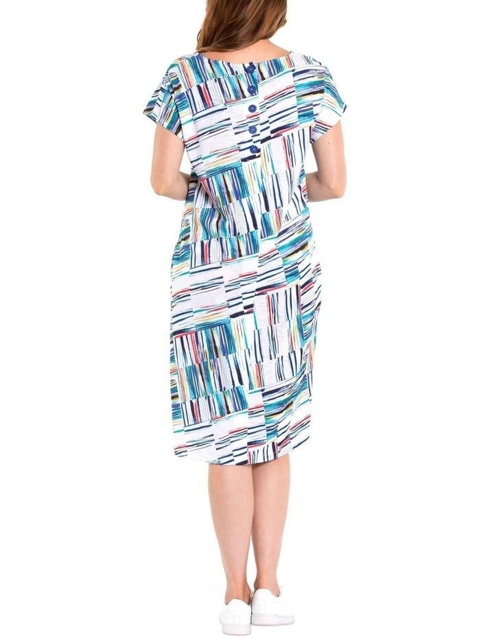 Broken Stripe Dress image 3
