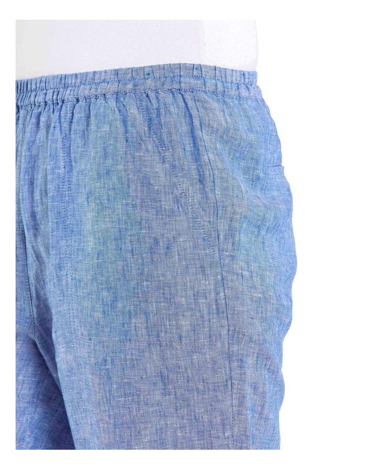 Cropped Crossdye Linen Pant image 4