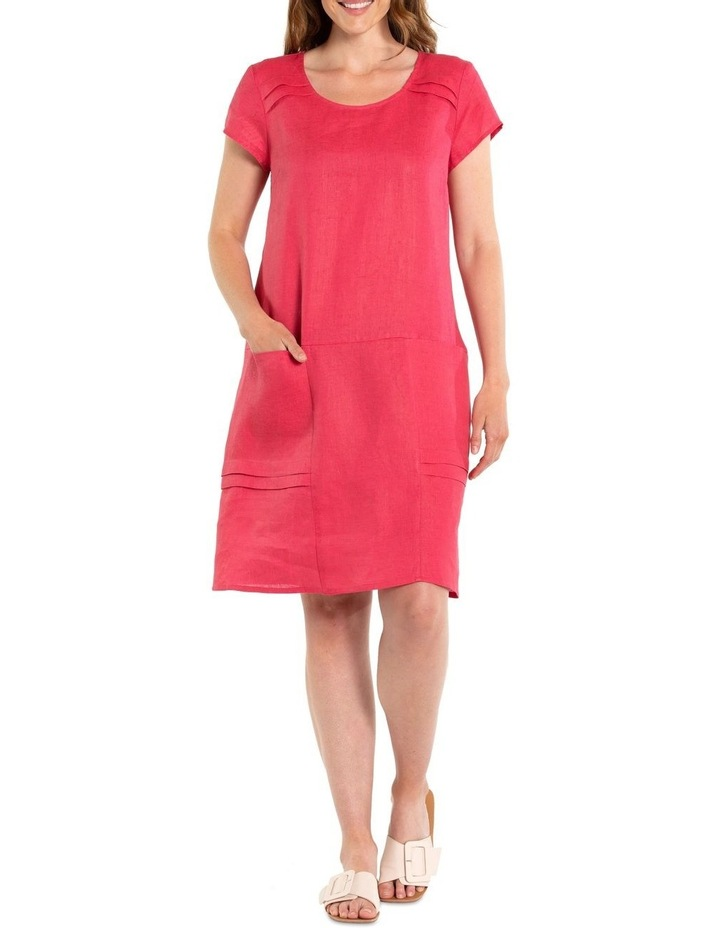 Pigment Washed Linen Dress image 1