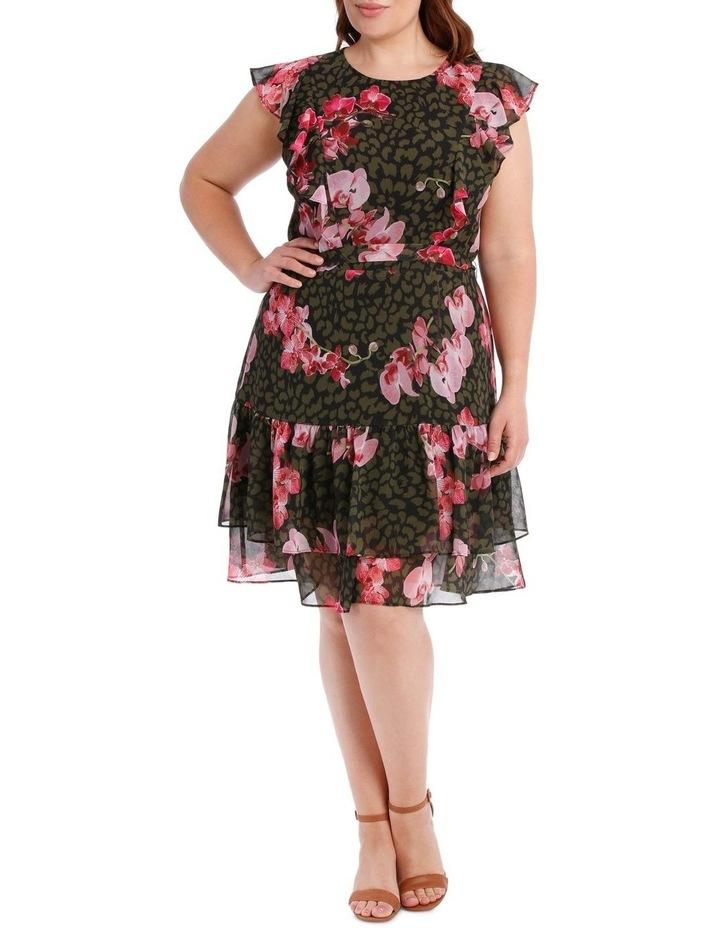 Amazon Ruffle Print Dress image 1