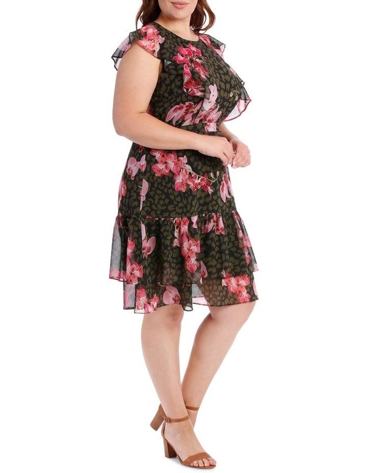 Amazon Ruffle Print Dress image 2