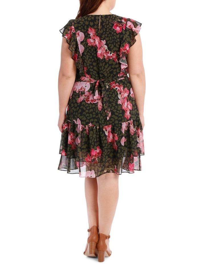 Amazon Ruffle Print Dress image 3