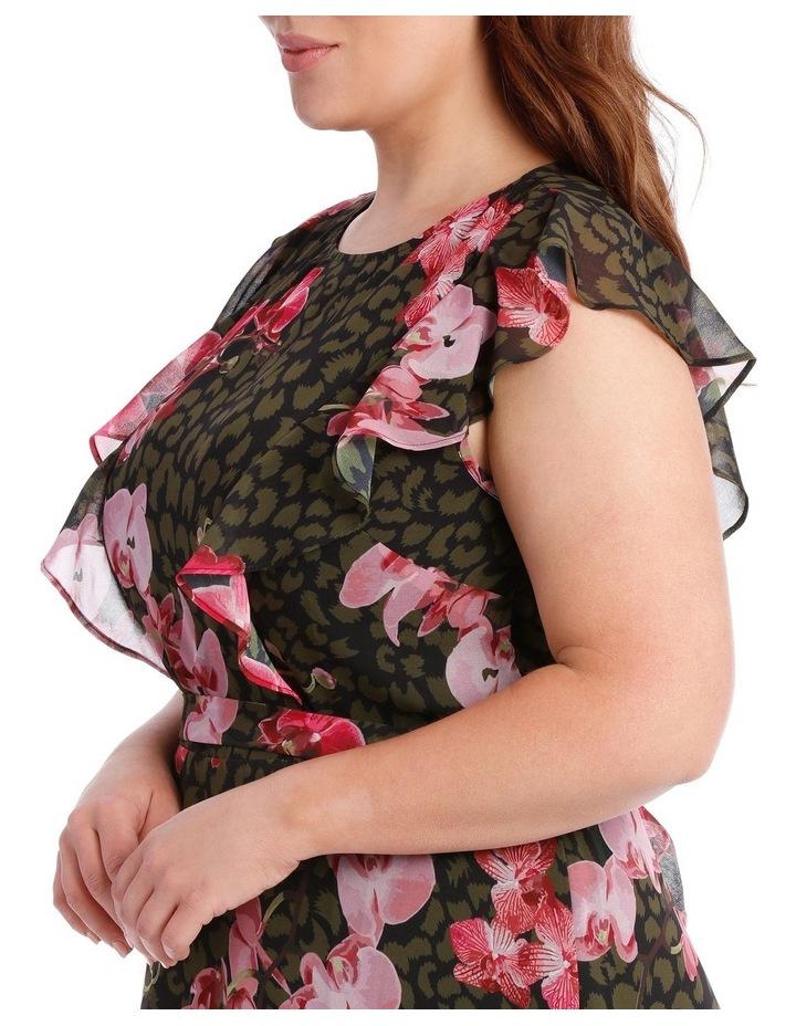 Amazon Ruffle Print Dress image 4