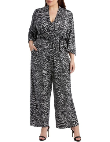 a803b62d792e Wayne Cooper WomanSnow Leopard Slinky Jumpsuit. Wayne Cooper Woman Snow  Leopard Slinky Jumpsuit