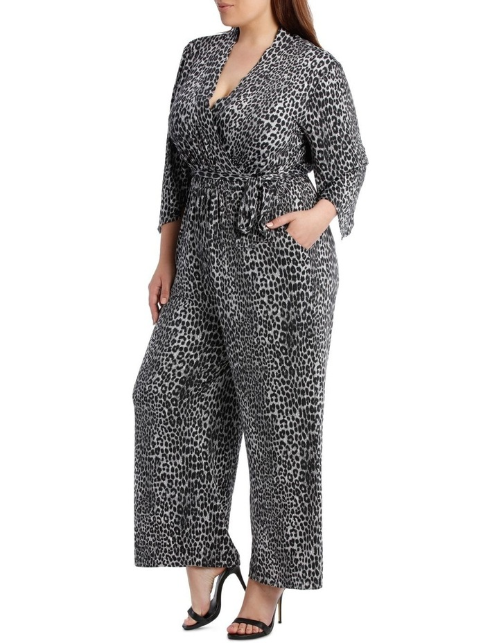 Snow Leopard Slinky Jumpsuit image 2