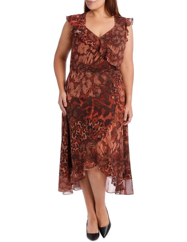 Phoenix Ruffle Print Dress image 1