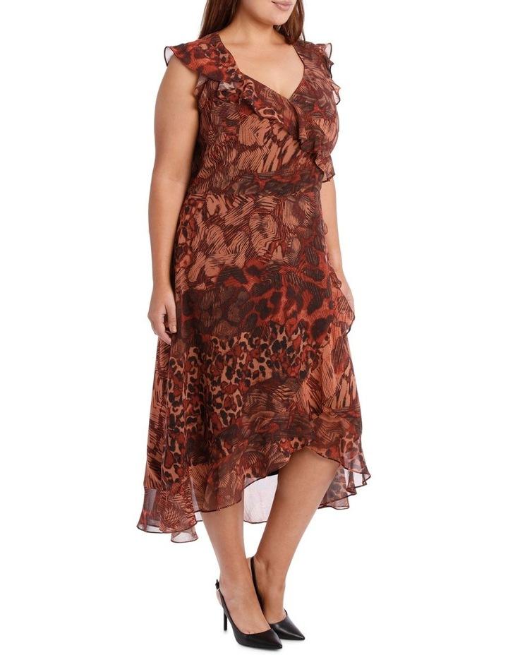 Phoenix Ruffle Print Dress image 2