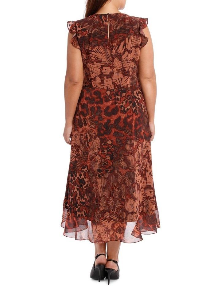 Phoenix Ruffle Print Dress image 3