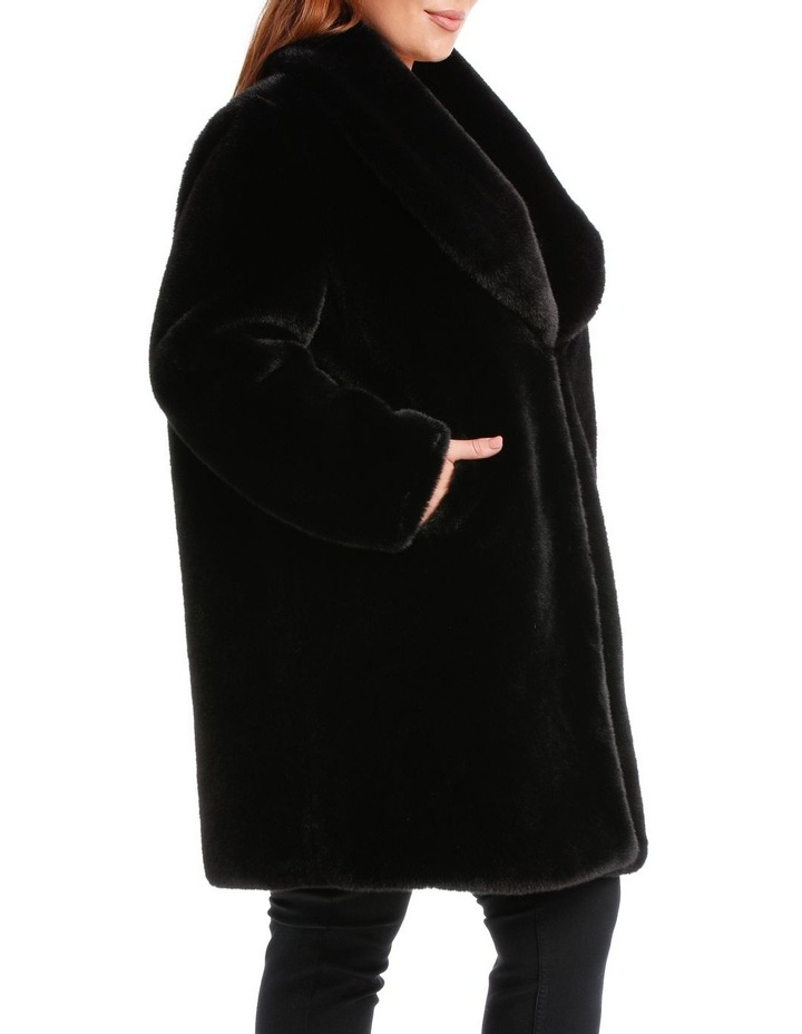Shawl Collar Black Coat image 2
