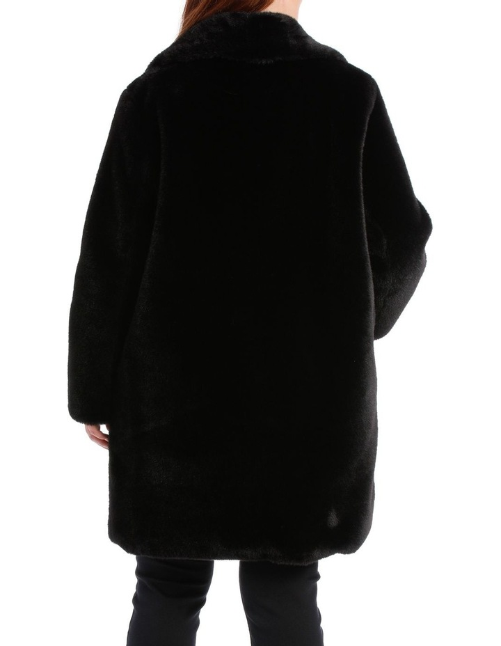 Shawl Collar Black Coat image 3