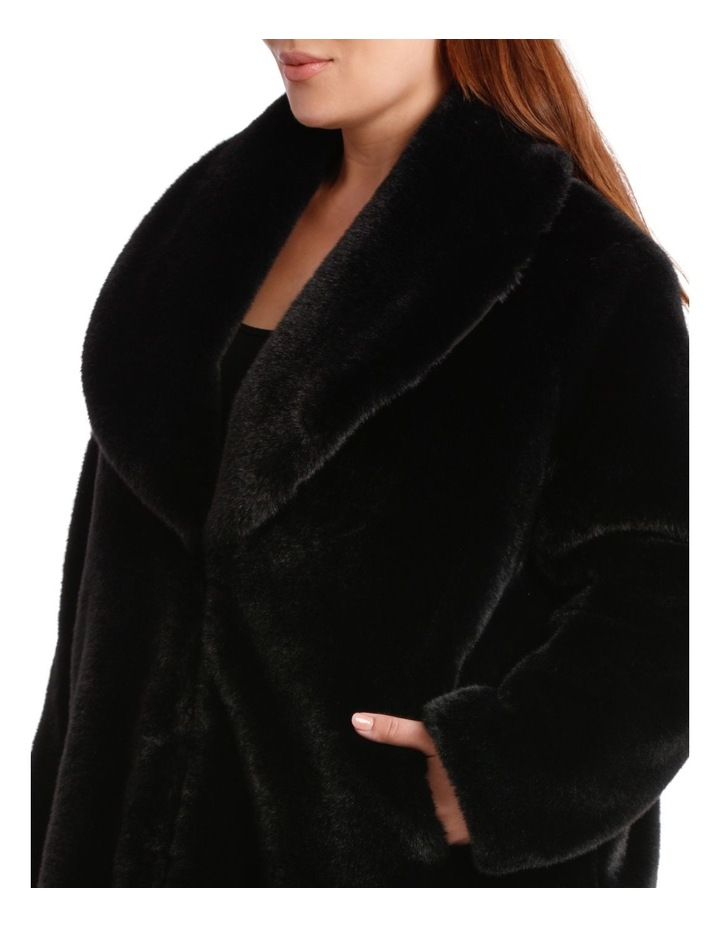 Shawl Collar Black Coat image 4