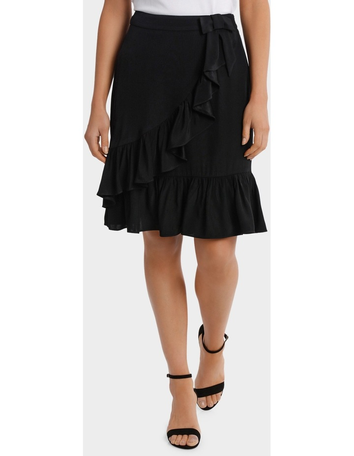 Black Ruffle Skirt image 1