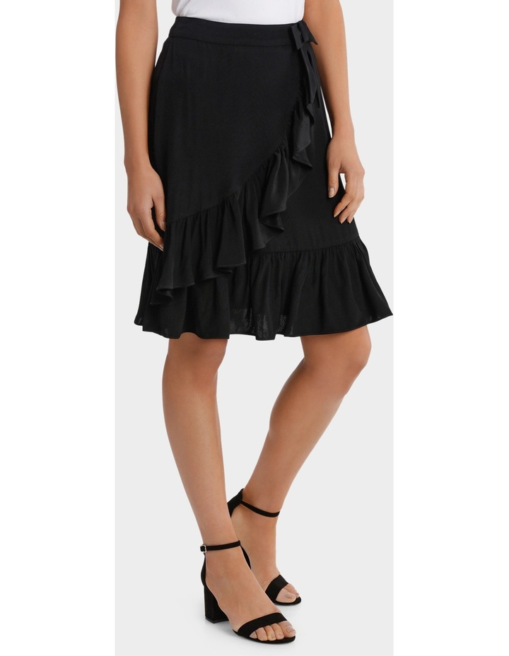 Black Ruffle Skirt image 2
