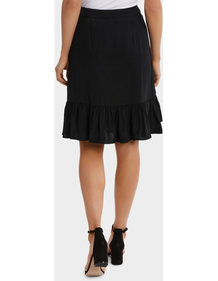Black Ruffle Skirt image 3