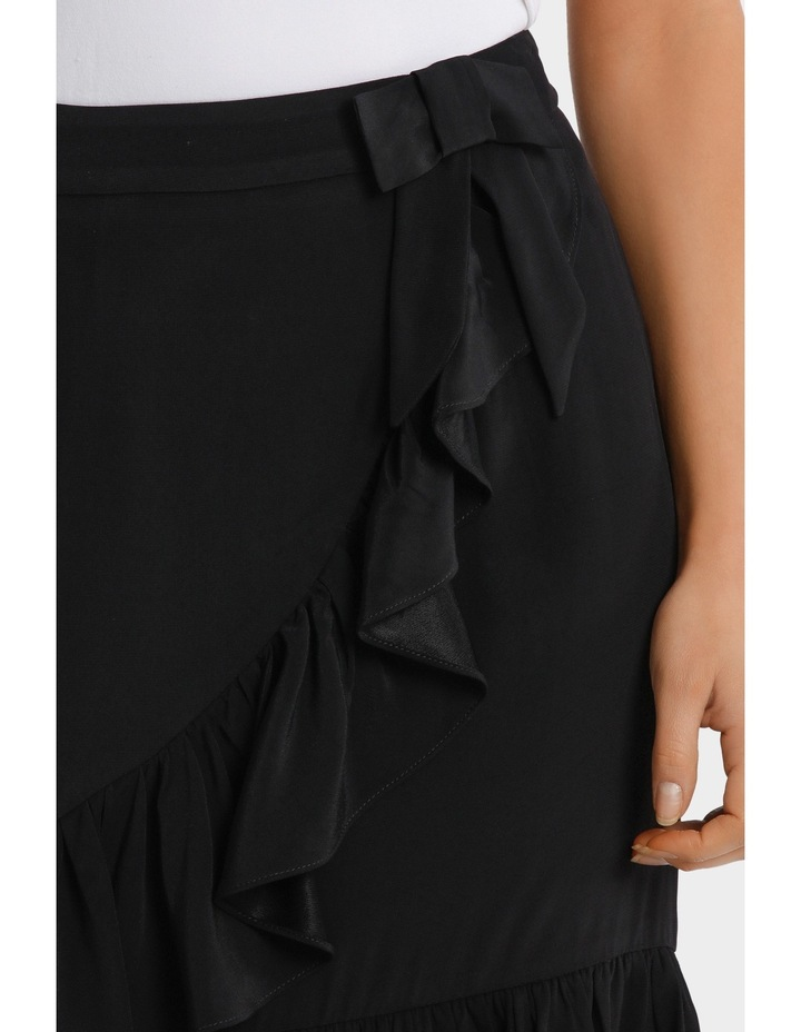 Black Ruffle Skirt image 4