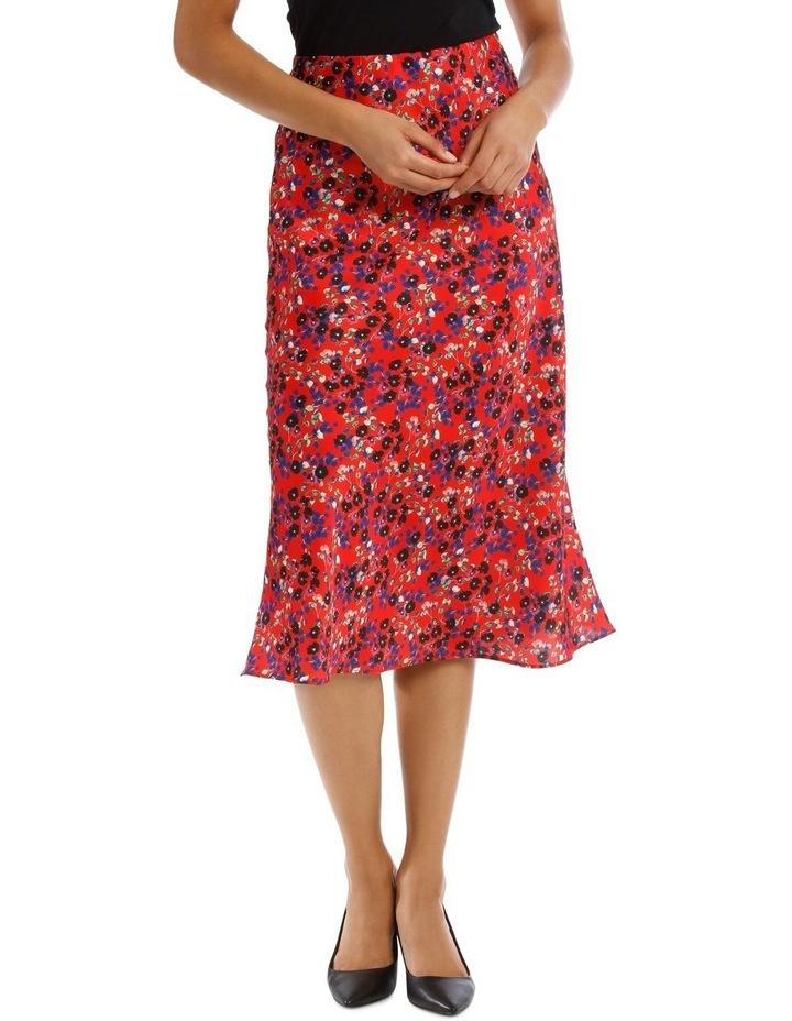 Red Daisy Doo Bias Skirt image 1